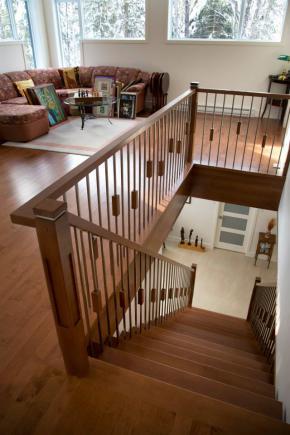 Escalier contemporain